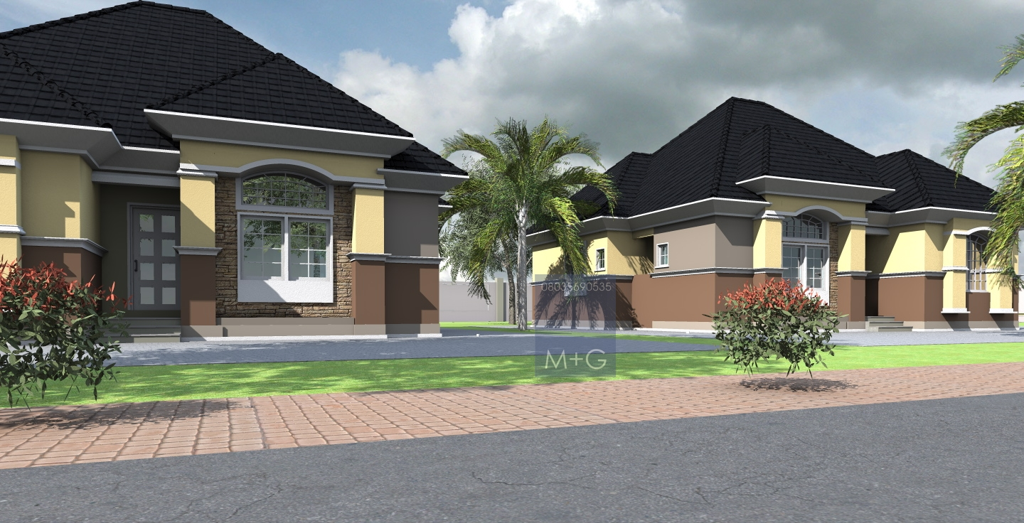 Exclusive 3 Story Bungalow 9: Contemporary Nigerian Residential Architecture: Luxury 3