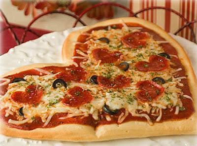 pizza romântica