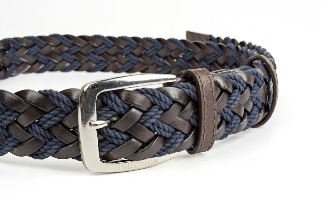 Hidesign and Manifattura di Domodossola partner for an exclusive new woven belt collection