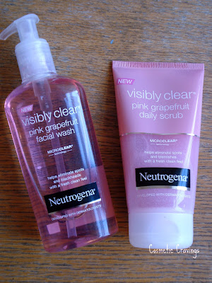 Cosmetic Cravings Review Neutrogena Visibly Clear Pink Grapefruit