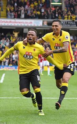 Watford FC Humiliates Man U With A Glamorous Defeat (Watford 3-1 Man U)