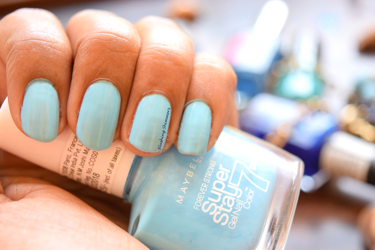 Maybelline Superstay Nail Paint-Uptown Blue