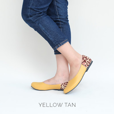 The Warna Shoes - Yellow Tan