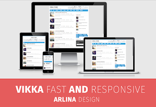 Vikka Fast Blogger Template | Blogger Templates Gallery