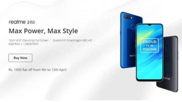 Realme 2 Pro with Snapdragon 660 AIE processor now starting Rs. 11,990