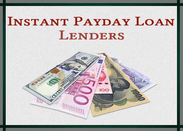 Instant Payday Loan Lenders