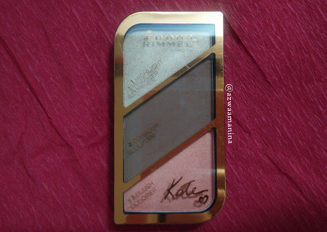 rimmel london contour kit in 003 golden bronze