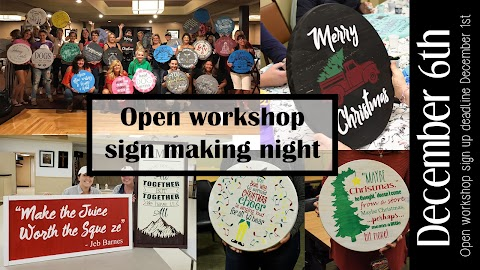 December 6th open workshop