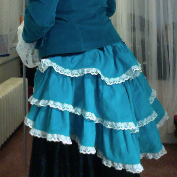 Bustle Costume
