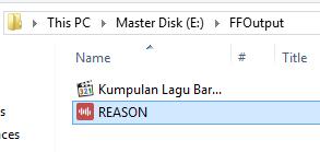 Cara Merubah Ekstensi File