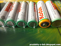 Akumulatorki Kodak Pre-Charged 4x2100 mAh z Biedronki