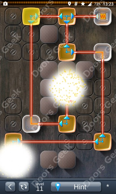 Solution for Laser Box - Puzzle (Classic) Level 11
