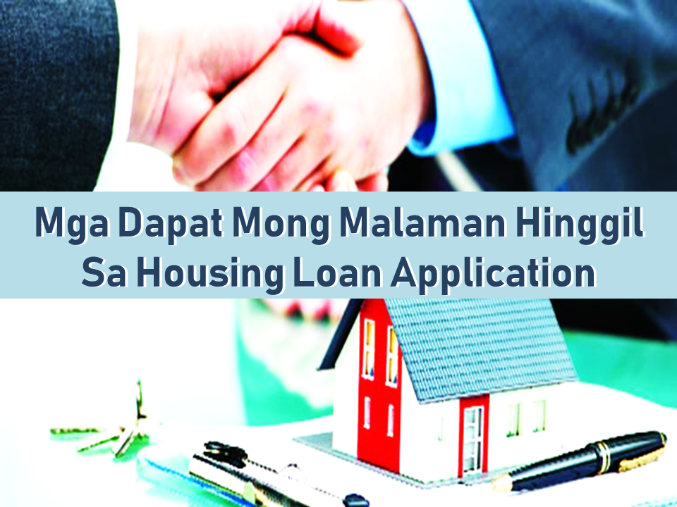 Whether it is a mortgage housing loan or any sort of loans which involves acquiring a property , everyone must know their way around or at least seek help from those who know about it.  in this article, we are providing you the basic elements of a successful housing loan application.    1. The Monthly Payment  For a housing loan, you must have sufficient income to get the loan approval. The monthly payment should be at most one-third of your income. Anything more than that makes your application process for a housing loan more difficult. Philippine banks generally do not approve loans that result in a monthly amortization of more than 30 percent of your monthly gross income.  If you wish to know how much you are going to pay every month, an amortization schedule is recommended. It helps to save your time and free yourself from the hassles of computing the amount which varies with each payment.  An amortization schedule is a table with the details of the amount of each payment allocated to the principal and interest. Early in the schedule, the majority of each periodic payment is the interest. After that, the majority of each periodic payment is put toward the principal.    2. The Down Payment What is a down payment? It is the amount of money you pay upfront when purchasing a home. Your down payment influences the home price you can afford. Generally, the banks in the Philippines require at least 20% of the appraisal value of the property as a down payment. It is also a benchmark used to determine your maximum affordability.  A larger down payment reduces the total amount of loan. In other words, your monthly payment and the interest you need to pay is greatly reduced. Thus, it's never too late to start saving and investing to accumulate the pesos you will need for a down payment on a housing loan.  Sponsored Links      3. The Kinds of Interest Rates When you are applying for a home loan, you can choose between fixed-rate and variable-rate terms. To make the best financial decision, it is important for you to know the difference between the two types of interest rates. In a variable interest rate loan, the interest rate varies as market interest rates change. As the interest rate is charged on the outstanding balance, your monthly payments will also vary. On the other hand, the monthly payments of the fixed interest rate loan remain constant for the loan's entire term. Its interest rate is independent of the market interest rates. The fixed interest rate is generally higher than a variable interest rate. The initial interest rate on a variable-rate loan is more attractive than that of a fixed-rate loan with a similar term. However, as the variable interest rates are subjected to changes, thus comparing only the initial rates of both loans is not enough.    4. Loan Tenure The total interest paid is directly proportional to the loan tenure. The higher the tenure, the higher the total interest paid, and vice-versa. However, when it comes to choosing your loan tenure, your affordability should be prioritized. A monthly amortization of more than 30 percent of your monthly gross income will be a really heavy financial burden.   You must read the documents carefully before you sign. Go through every single statement and have a full understanding. Don't ever feel shy to ask anything about your home loan application. Moreover, check the documents to ensure that the terms are the same as what you negotiated and agreed upon. In addition, you must know the different charges such as the processing fees, late payment fees, and the likes.    Read More: Popular Pinoy Stores In Canada  10 Reasons Why Filipinos Love Canada  Comparison Of Savings  Account In The Philippines:  Initial Deposit, Maintaining  Balance And Interest Rates  Per Annum  Mortgage Loan: What You Need To Know  Passport on Wheels (POW) of DFA Starts With 4 Buses To Process 2000 Applicants Daily  Did You Apply for OFW ID and Did You Receive This Email?  Jobs Abroad Bound For Korea For As Much As P60k Salary  Command Center For OFWs To Be Established Soon  ©2018 THOUGHTSKOTO  www.jbsolis.com   SEARCH JBSOLIS, TYPE KEYWORDS and TITLE OF ARTICLE at the box below
