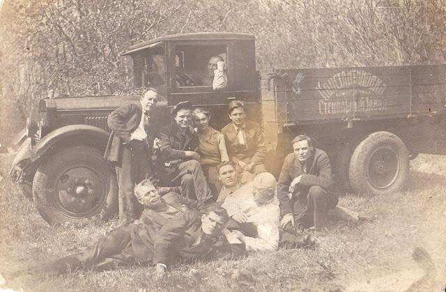 ЗИС-5 - Константиновского стекольного завода (надпись на борту). Константиновка