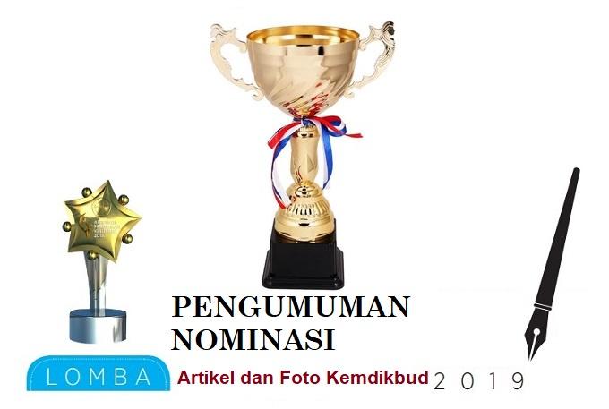 Nominasi Juara Foto dan Artikel Kemdikbud 2019