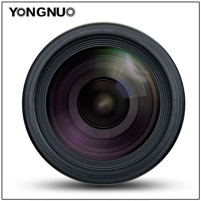 Yongnuo YN 35mm f/1.4, вид спереди