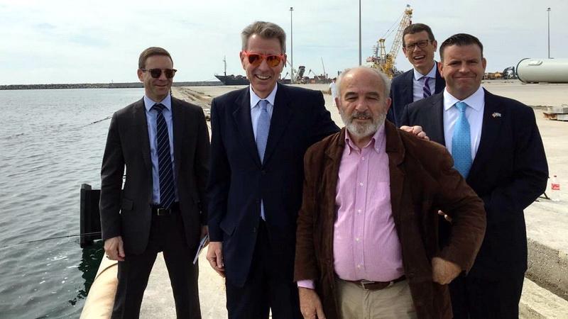 Επίσκεψη του Πρέσβη των ΗΠΑ Τζέφρι Πάιατ στην Αλεξανδρούπολη