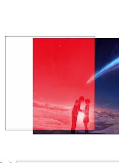 contoh hasil gambar satu warna