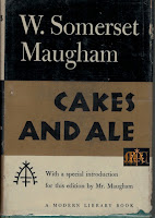 Cakes and Ale 1950 Modern Library - W. Somerset Maugham