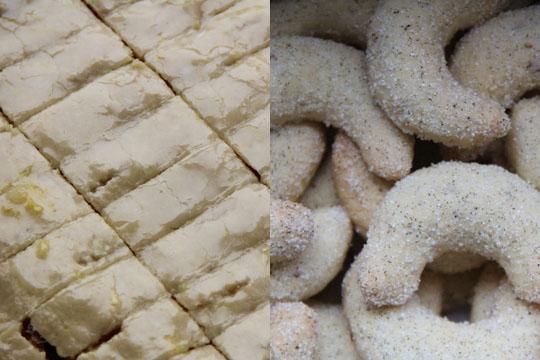 Weihnachtsplätzchen: Rezept für Orangenschnitten und Vanillekipferl