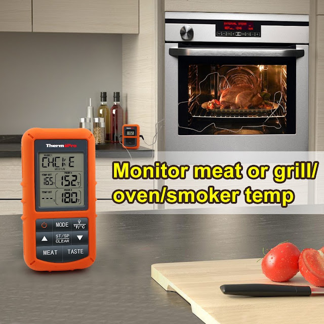 Top 10 Best Thermopro Cooking Meat Food Wireless Thermometers