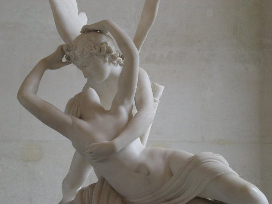 """""""Cupid and Psyche"""" by Canova"""