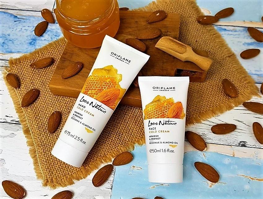 Miodowo-migdałowa pielęgnacja skóry z Love Nature Cold Cream
