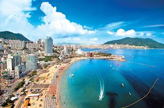 Liburan Musim Panas Di Haeundae Beach Korea