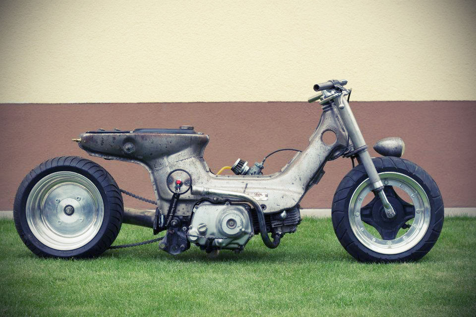 Free The Wheels     Speedfreak Custom Honda Chaly