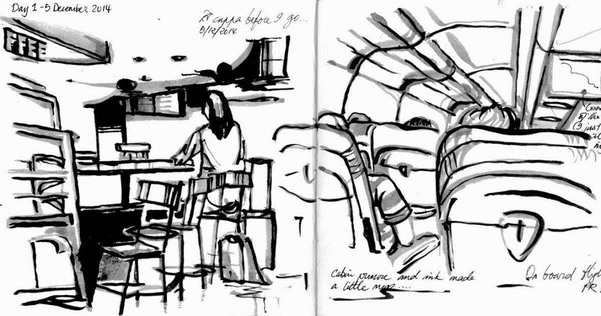 Musings of a Citi Sketcha: Hola, Manila! Un Recuerdo en