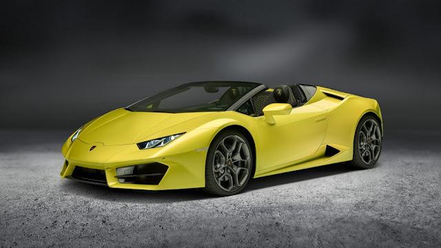 Lamborghini Huracán LP 580-2 Spyder 2017 - Un precioso descapotable