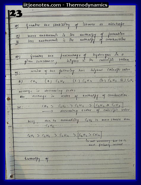 Thermodynamics Notes7