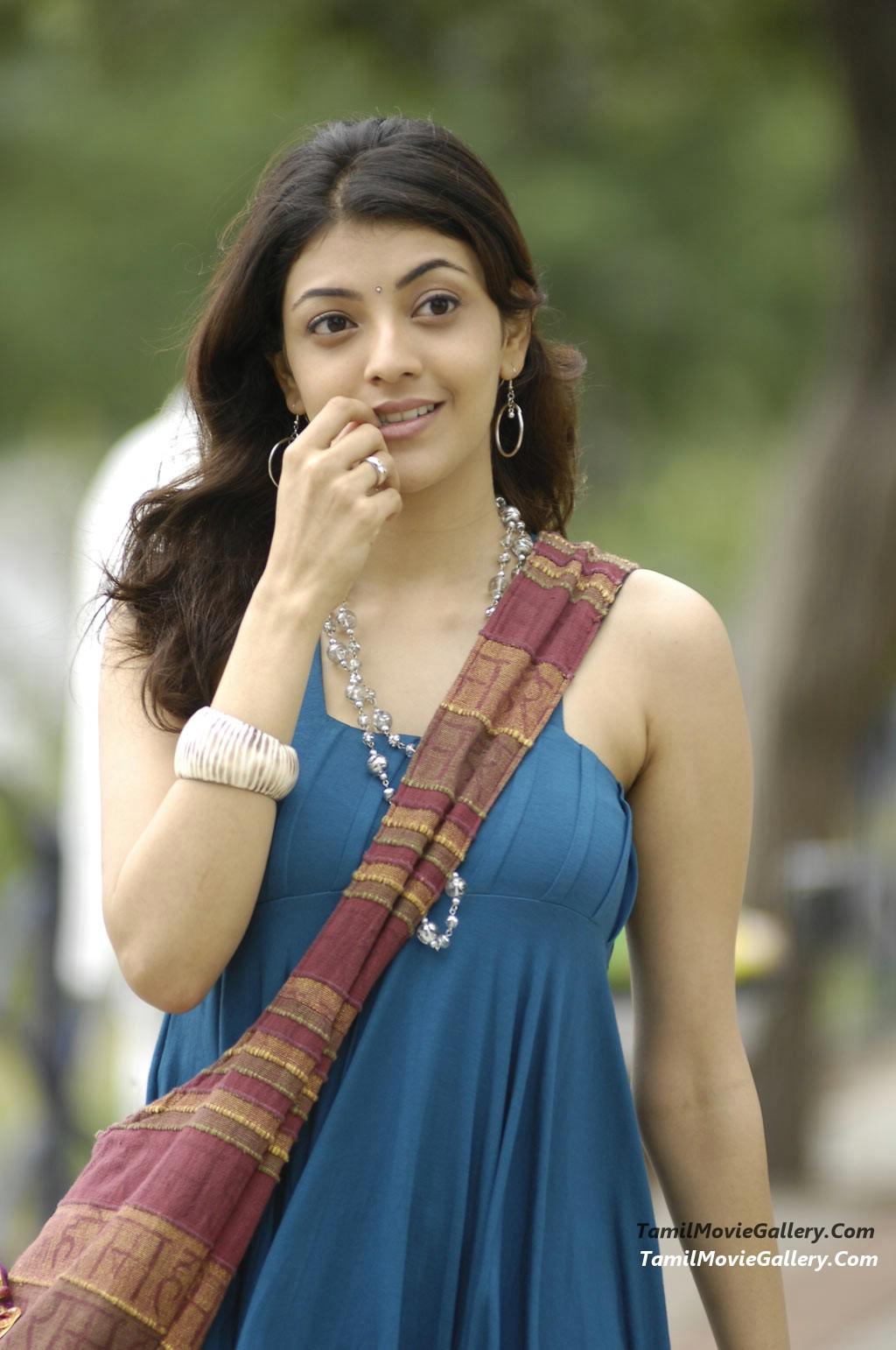 I SEE YOU: Kajal Agarwal Cute Photos Stills In Maaveeran