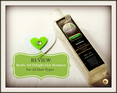 Review of Rustic Art Delight Biodegradable Aloe Shampoo on NBAM Blog