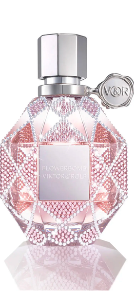 Viktor & Rolf NM Exclusive Flowerbomb Swarovski® Holiday Limited Edition Refillable Bottle