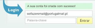 Como fazer para criar um Portugal Mail