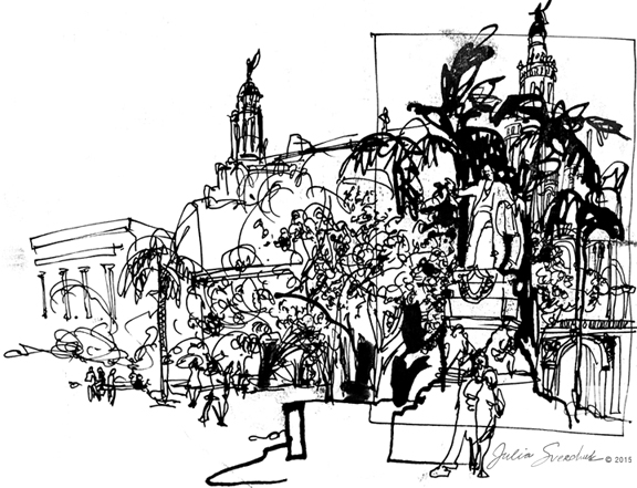 iDrawing: Notes from Cuba, Part 2: Streets of Havana
