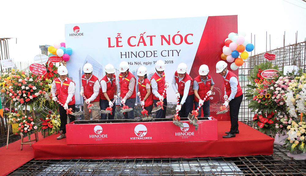 Chính thức cất nóc dự án Hinode City