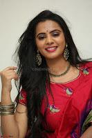 Manasa in Pink Salwar At Fashion Designer Son of Ladies Tailor Press Meet Pics ~  Exclusive 20.JPG