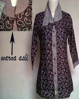 Model Baju Batik Terbaru Buat Guru