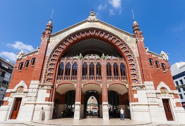 Edifício modernista da época da Renascença Catalã