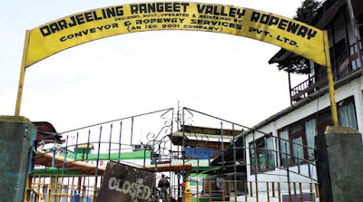 Rangeet Valley Passenger Ropeway in darjeeling