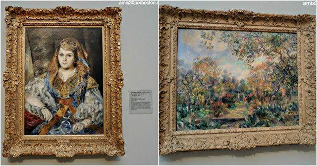 Legion of Honor: Madame Clementine Valensi Stora (L'Algerienne) y Landscape at Beaulieu de Renoir