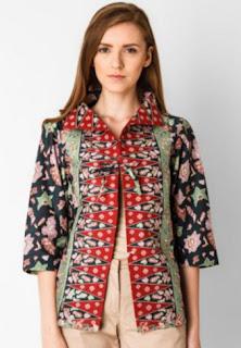 Baju batik trendy untuk kerja