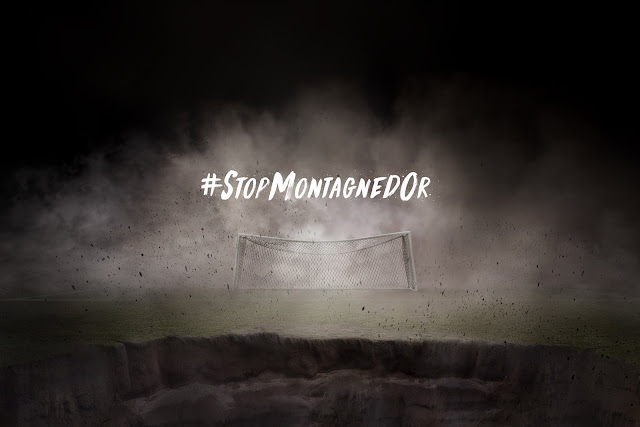 WWF France Launches #StopMontagnedOr with French Footballer Ibrahim Cissé