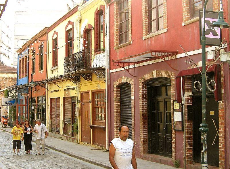 Το ιστορικό κέντρο της Θεσσαλονίκης διαχωρίζεται στις συνοικίες  Λαδάδικα 300cfe4ad81