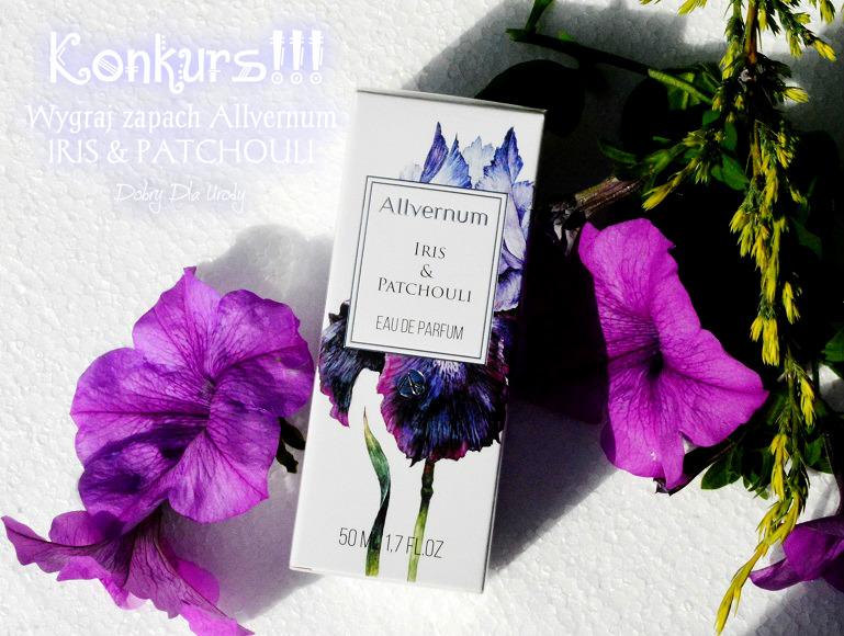 KONKURS! Wygraj wodę perfumowaną Allvernum IRIS & PATCHOULI Grasse Collection