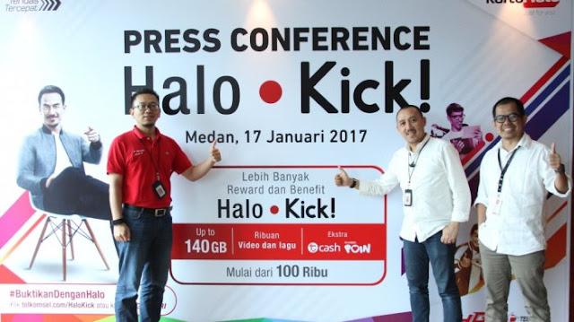 Halo Kick! Sediakan Benefit Premium Bagi Pelanggan Kartu Halo