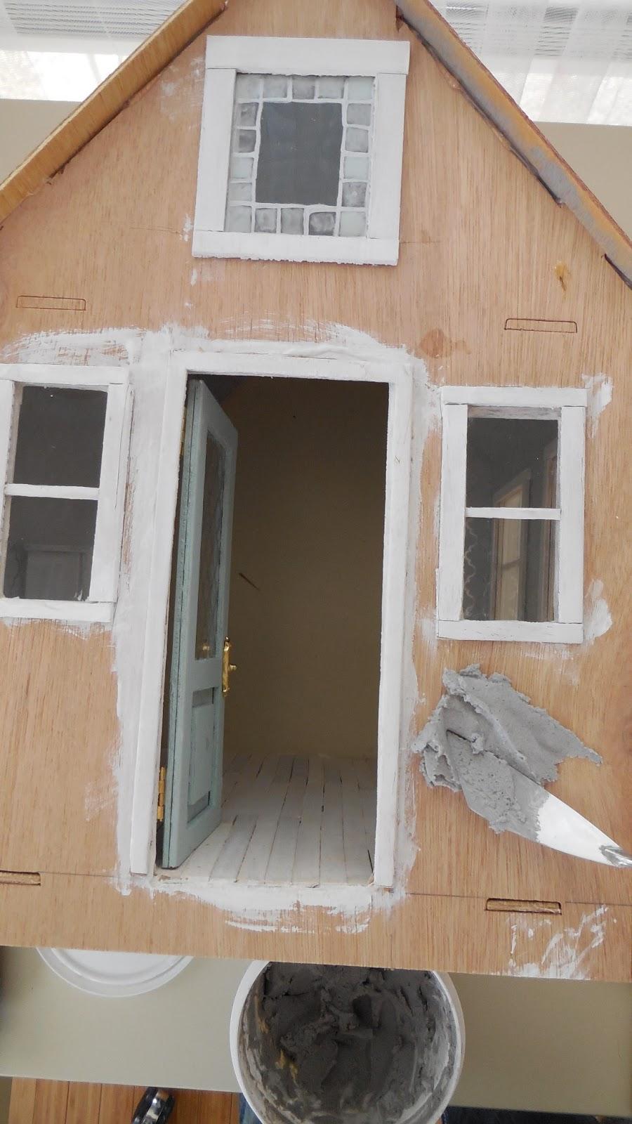 Cinderella Moments Little White Cottage Dollhouse