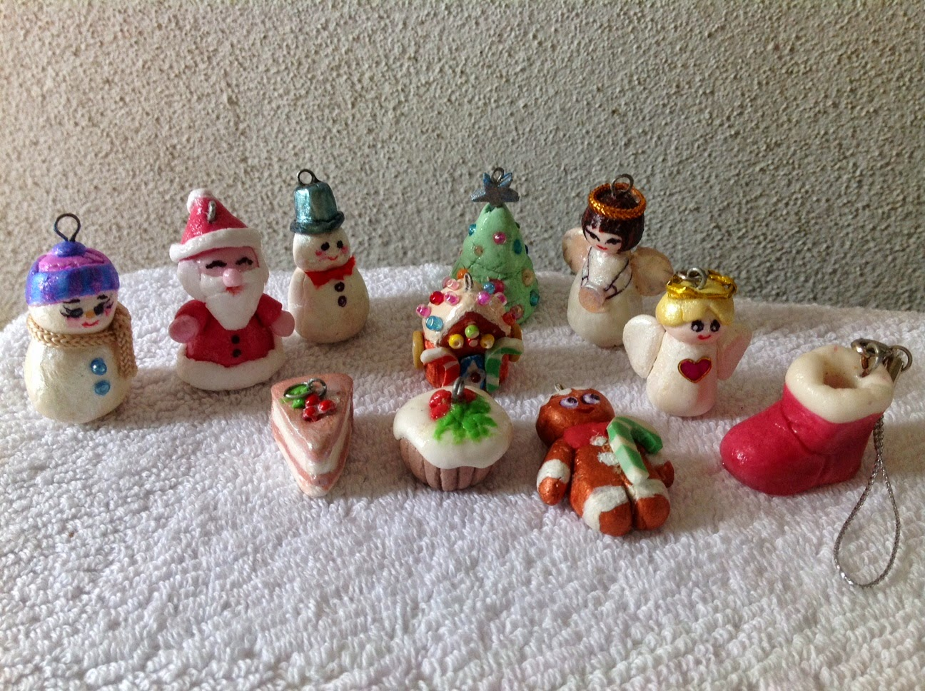 Polymer Clay Christmas Ideas.Gifts By Hand 2 You Polymer Clay Christmas Gift Ideas